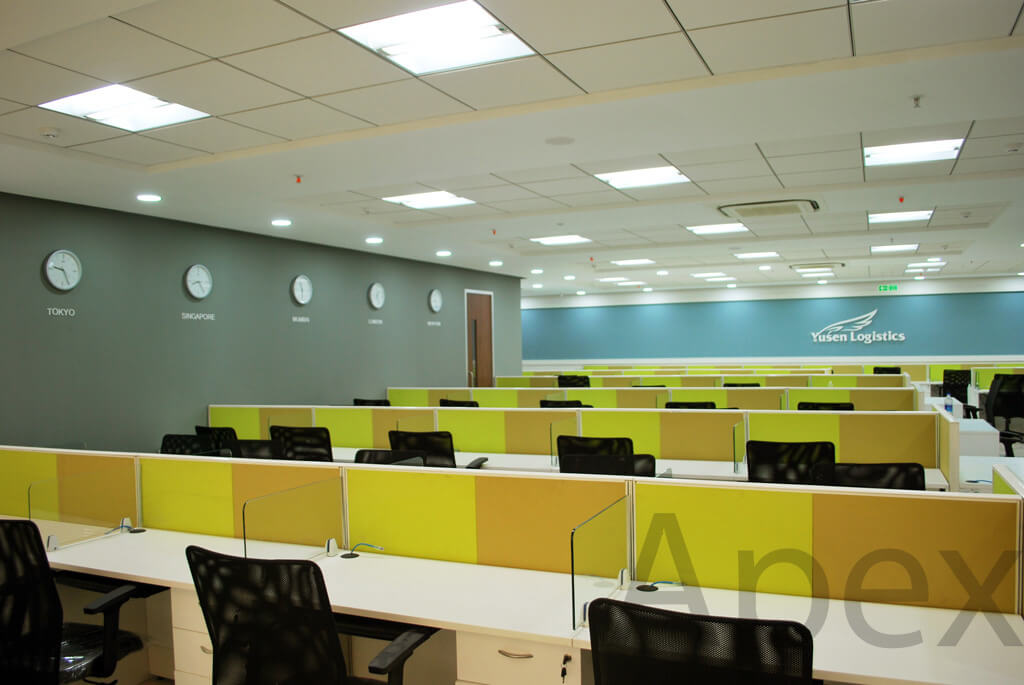 Office interior - Yusen Logistics, Andheri, Mumbai