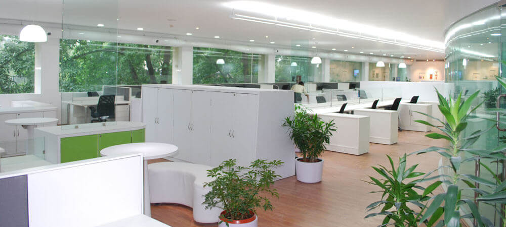 GCPL Vikhroli Mumbai Office Floor Interior Costs